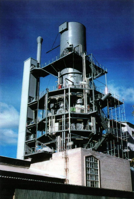 Annular shaft kiln